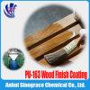 Alta pintura del poliuretano del lustre para el rectángulo de madera