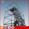 調節可能なステップ梯子の足場建築構造のCuplockの足場梯子