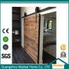 Porta de celeiro deslizante de madeira interior para o uso residencial