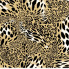 Leopard-Druck Pigment&Disperse der Änderungs-100%Polyester druckte Gewebe für Bettwäsche-Set