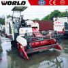 Commande hydraulique de 88HP 4LZ-4.0e Mini moissonneuse de riz pour la vente de la machine