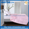 Edredón de lino de la base de la tela del poliester de la colección del hotel todo el consolador de la estación