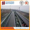 Konkretes Gummibandförderer-System in der Baumaterial-Industrie