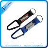PVC 로고 간결 방아끈 결박 Carabiner Keychain
