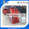 L'argile automatique usine de fabrication de briques de ciment machine à fabriquer des briques de verrouillage