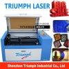 Il mini legno di plastica di carta della tagliatrice dell'incisione del laser della plastica perfezionamento il Engraver del laser