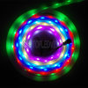 Luz de tira multicolora del RGB los 60LEDs/M SMD5050 Digitaces LED con Built-in del IC