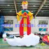 Le Roi Inflatable Cartoon Model de singe