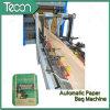 Velocidade alta e cimento totalmente automático e máquinas de fabrico de sacos de papel
