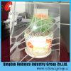 Clair verre décoratif 4mm/5mm/6mm / conçu de verre / écran de soie de verre / verre imprimé / verre d'acide