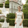 Da sereia dos vestidos nupciais do laço vestidos 2016 de casamento completos Z8015
