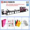 Saco tecido PP personalizado que faz a máquina Zxl-C700