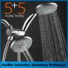 ливень Slimline ливня Shower-Head дороги Ультра-Роскоши 3 конструкции 24-Setting установленный Handheld комбинированный для гостиницы и проекта