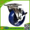 Seitliche Bremsen-Hochleistungsfußrolle rostfreies Steel
