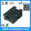 Mini plastique DIN-Rail Mouting électrique Socket relais avec CE