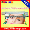 Best Qualityの720dpi 4か8 Spt 510 35pl Heads Challenger Fy3208r 10FT Flex Banner Printer