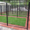 Het poeder Met een laag bedekte Huis van de Omheining van de Kennel van de Hond