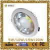 Hete Sale 18W Luna 6 Inch COB LED Downlight met Ce