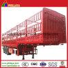 40-60ton Jogo / Compartimento da régua de carga a granel semi reboque para transporte de gado por vaca em aleitamento
