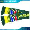 Écharpe de sport de jacquard de l'Afrique du Sud pour les passionés du football (M-NF19F10020)
