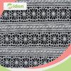 100綿のアフリカの化学レースの刺繍ファブリック