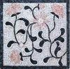 Handmade 대리석 벽돌 벽 꽃은 부엌 대리석 모자이크를 타일을 붙인다