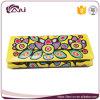 Бумажник PU самой последней конструкции способа кожаный для девушки, оптовой продажи портмона бумажника печати цветка