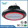 2017私達普及したSnc 100W150W200W UFO LED高い湾ライトULのcUL高い湾LEDの据え付け品IP65の平均の井戸ドライバー高いCRI 5年の保証