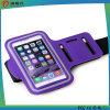 iPhoneの6/5 /4の練習のためのスポーツの腕章、スポーツ(紫色)