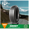 Supeuhawk toda la certificación radial de acero 11r22.5, la misma calidad del PUNTO del neumático del carro que Doublecoin
