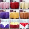 Evento de casamento de luxo Toalha de mesa feita de tecido de algodão (DPF107114)