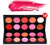 Makeup Palette 20 Kit de maquillage aux couleurs merveilleuses, Lipgloss