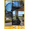 Modernes im Freien gewundenes Treppenhaus/Treppenhaus Maunfactuers