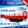 販売のための三車軸動物輸送の棒のトラックのセミトレーラー