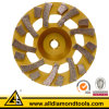 구체적인 지면 (HCPT)를 위한 터보 다이아몬드 가는 컵 Wheell