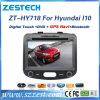 Navegación del GPS del coche para Hyundai I10 con reproductor de DVD