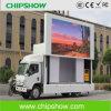 Chipshow 풀 컬러 P10 옥외 이동할 수 있는 트럭 LED 스크린