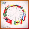 Drapeau à main de pays du poteau plastique national (HYHF-AF016)