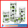Food di vetro Storage Jar con Metal Lid