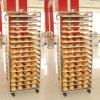 Racks de acero inoxidable de panadería / carro