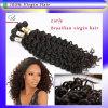 7A+ Grade 2014年のHot Selling VirginブラジルのRemy HairジェリーCurl