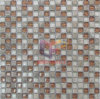 우아한 Crystal 및 Stone Mixed Mosaic Tile (CS142)