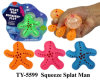 De nouveaux jouets Splate Squeze avec cordon