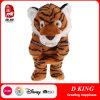 Marionnettes de main faites sur commande de tigre de jouet de peluche de Brown pour des gosses
