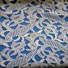 Bela aparência leitosa Rendas Química de fios de tecido da roupa de verão