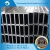 Труба сваренная нержавеющей сталью прямоугольная/пробка AISI 202 для Banisters