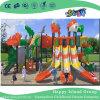 2017 Novo design do parque ao ar livre crianças combinação desliza Parque infantil