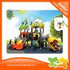 Glissière en plastique extérieure de tube de parc d'attractions de mini cour de jeu