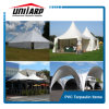 550GSM White PVC Coated Polyester Vinyl Fabric for Tent Awnings