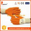 Ddsafety 2017 Orangen-Latex-überzogener Handschuh